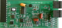 Voltage-to-frequency signal conditioner board