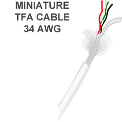 Miniature TFA Cable |32|34|36| AWG
