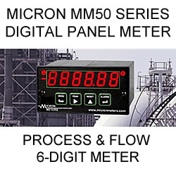 Micron Digital Process and Flow Total Meter