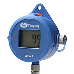 TV-4104  Display high temperature logger and probe