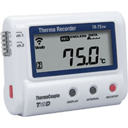 TR-75nw Thermocouple Temperature Data Logger