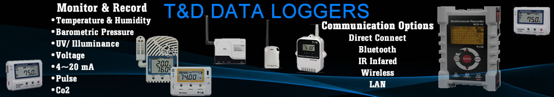 View T&D Data Loggers